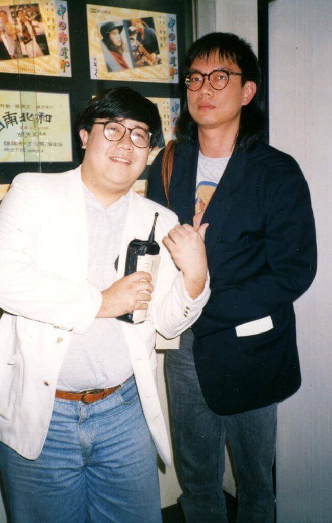 劉錫賢在演藝學院讀導演出身,和胡大為一樣幕前幕後都做過。