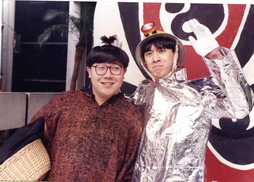 劉錫賢跟陳輝虹拍過喜劇,也曾一起主持搞笑節目。