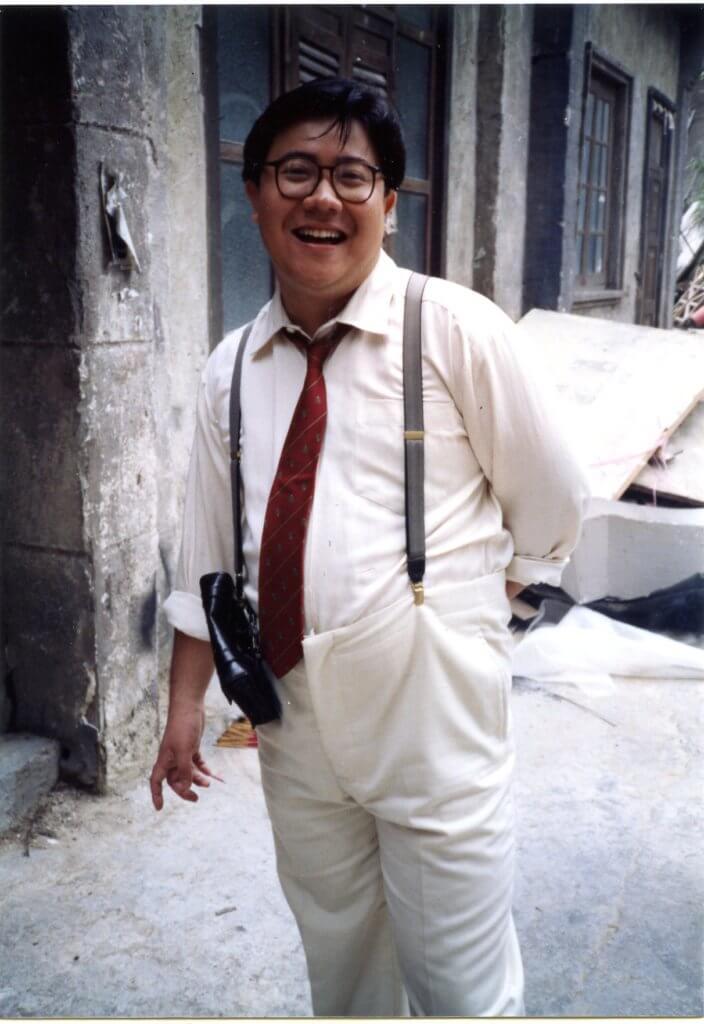 劉錫賢性格開朗,在圈中被綽號「肥哥哥」。