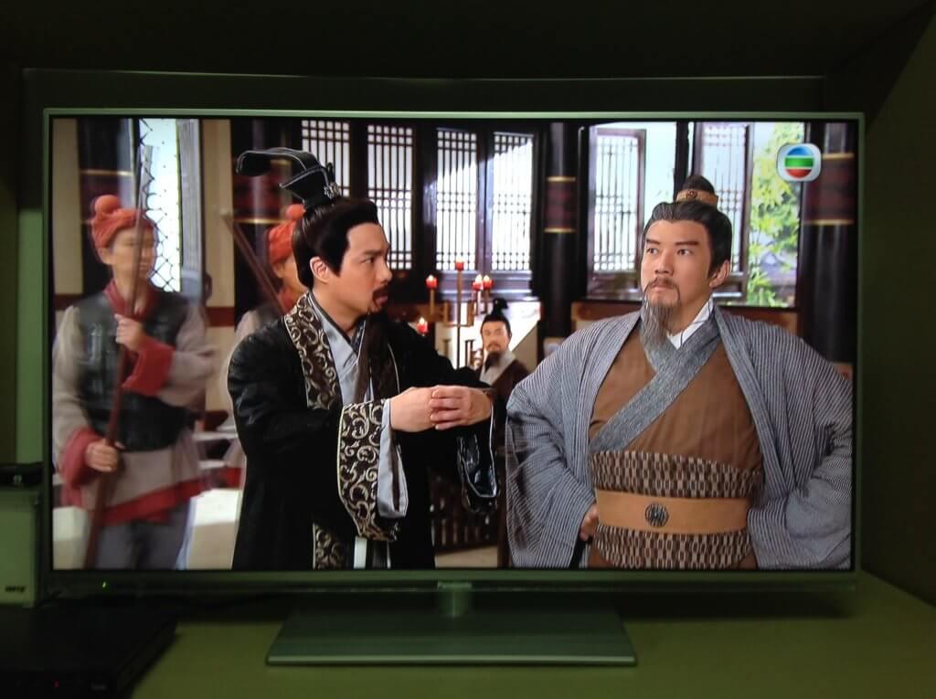 章志文在劇集《回到三國》飾演龐統,與飾演黃蓋的楊英偉有對手戲。