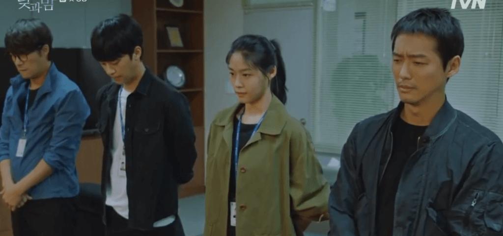 特搜組四人幫,由南宮珉、雪炫、李新英及崔大晢組成。