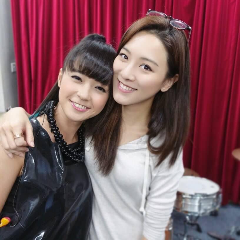 王敏奕與糖妹情同姊妹,很開心在劇中合作,二人很有默契。