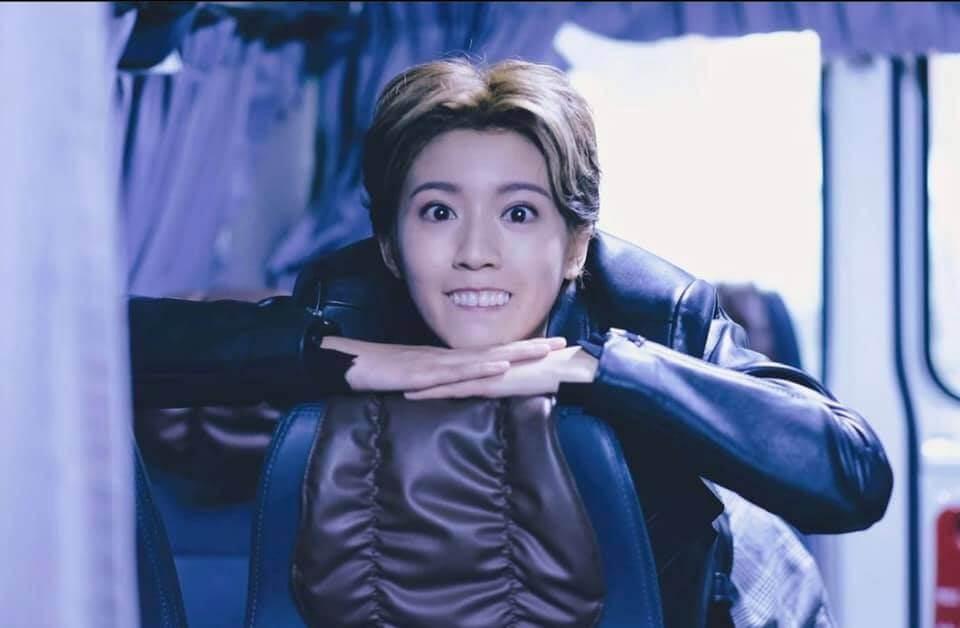 《踩過界Ⅱ》演癲姐一角,雖然醜樣但令她演技有所發揮。