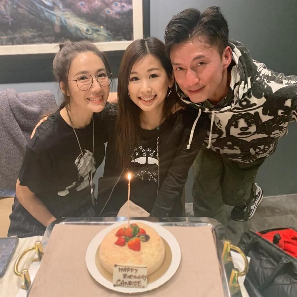 趙希洛在《金宵大廈》飾演憶子成狂的何太,早前劇中男女主角陳山聰及李施嬅為她慶祝生日。