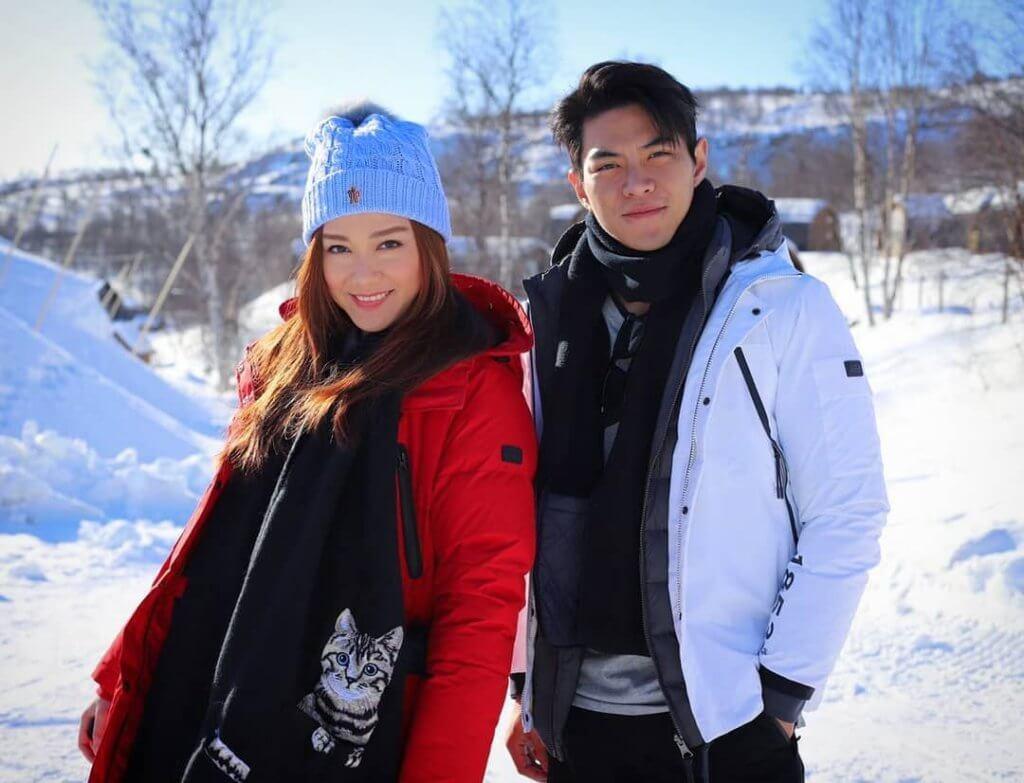 湯洛雯和羅天宇分開亦是朋友,他形容女方為半個家人。