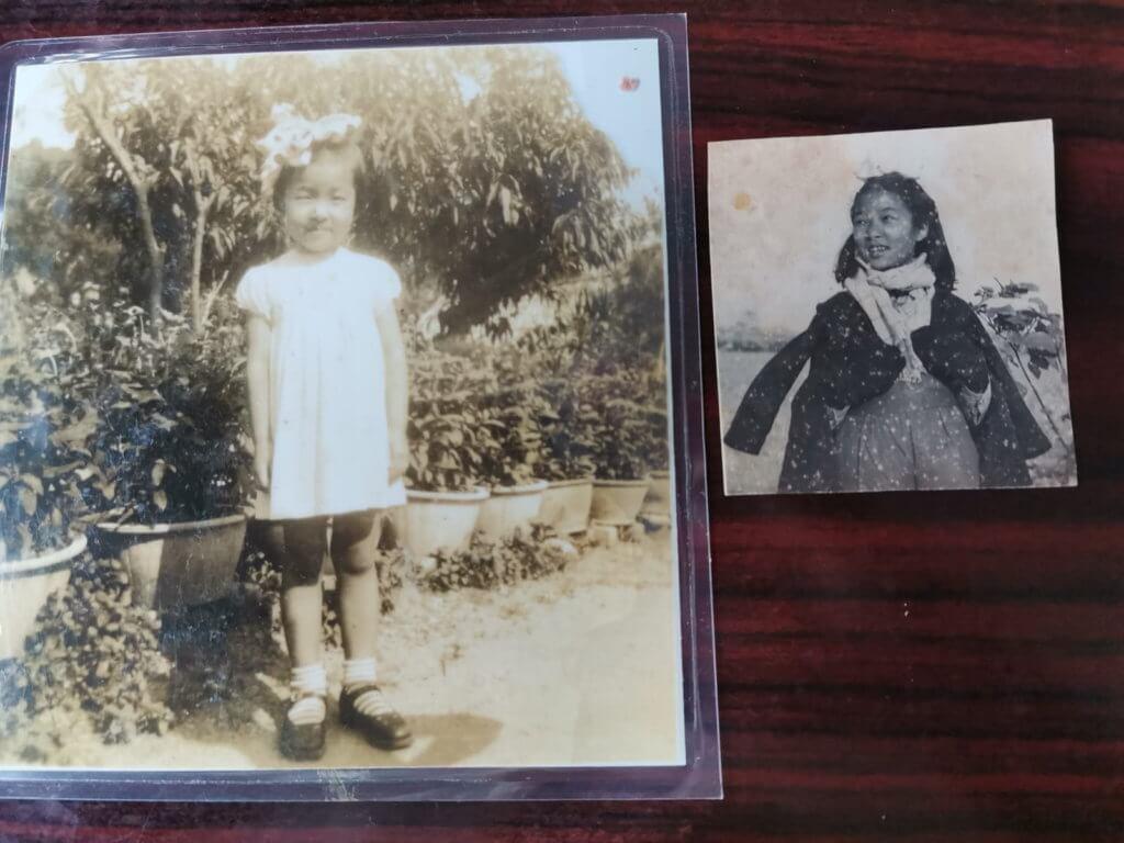 彭美嫦在香港出世,父親是外資電報公司員工,童年時代家境本來不俗,可惜遇上打仗,隨家人在中港兩地過着顛沛流離的生活。