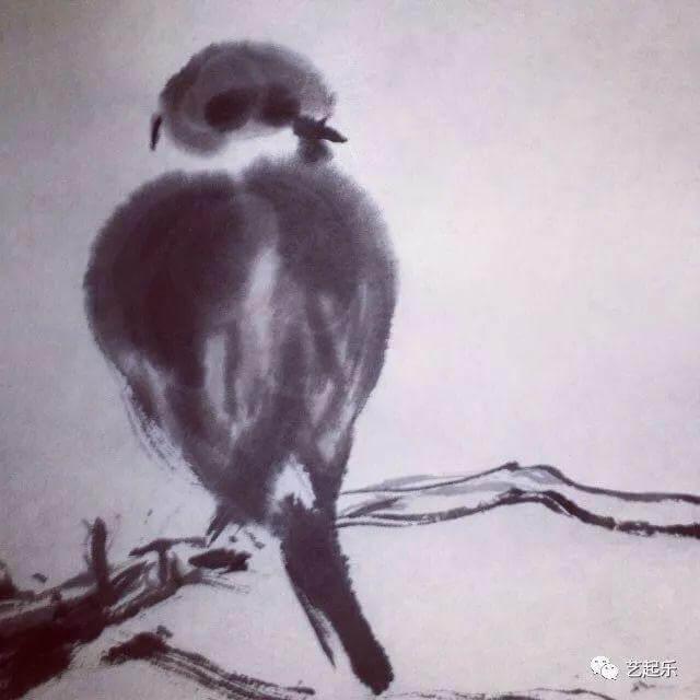 李佳芯的畫作以山水及花鳥為主,非常生動。