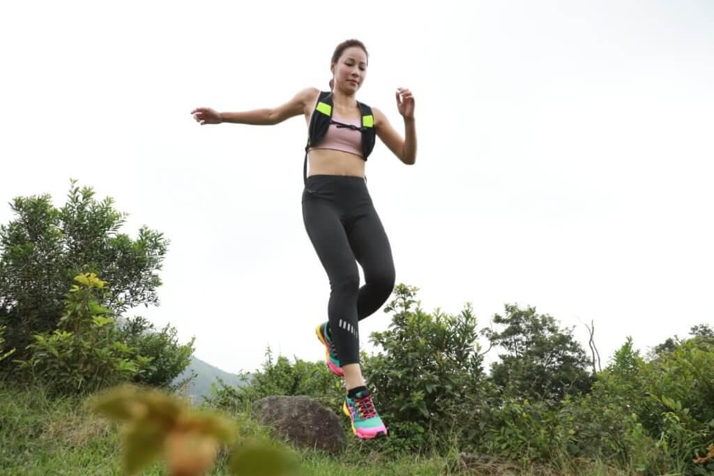 余曉彤喜愛大自然的無拘無束,上山下海後,希望挑戰滑翔傘。