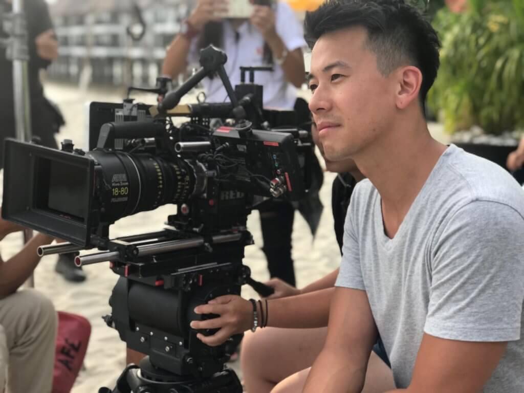 陳宇琛去年在馬來西亞拍攝電影《YOLO》,擔任導演的他比以往成熟不少。