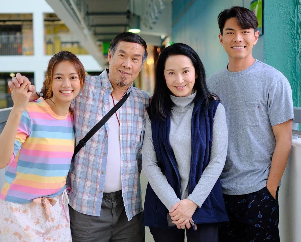 羅天宇最近在劇集香港愛情故事》榮陞男一
