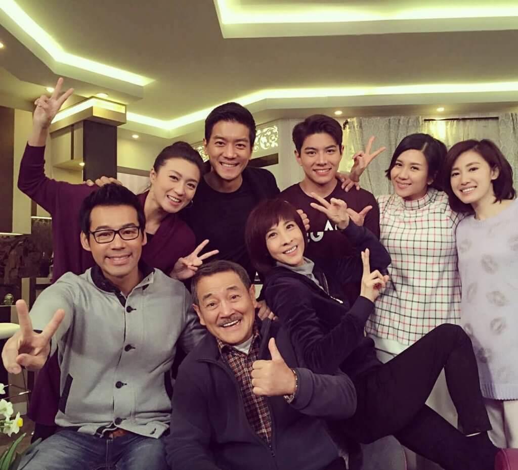 《愛‧回家》姓馬一家非常入屋,羅天宇和劉丹、徐榮等合作愉快。