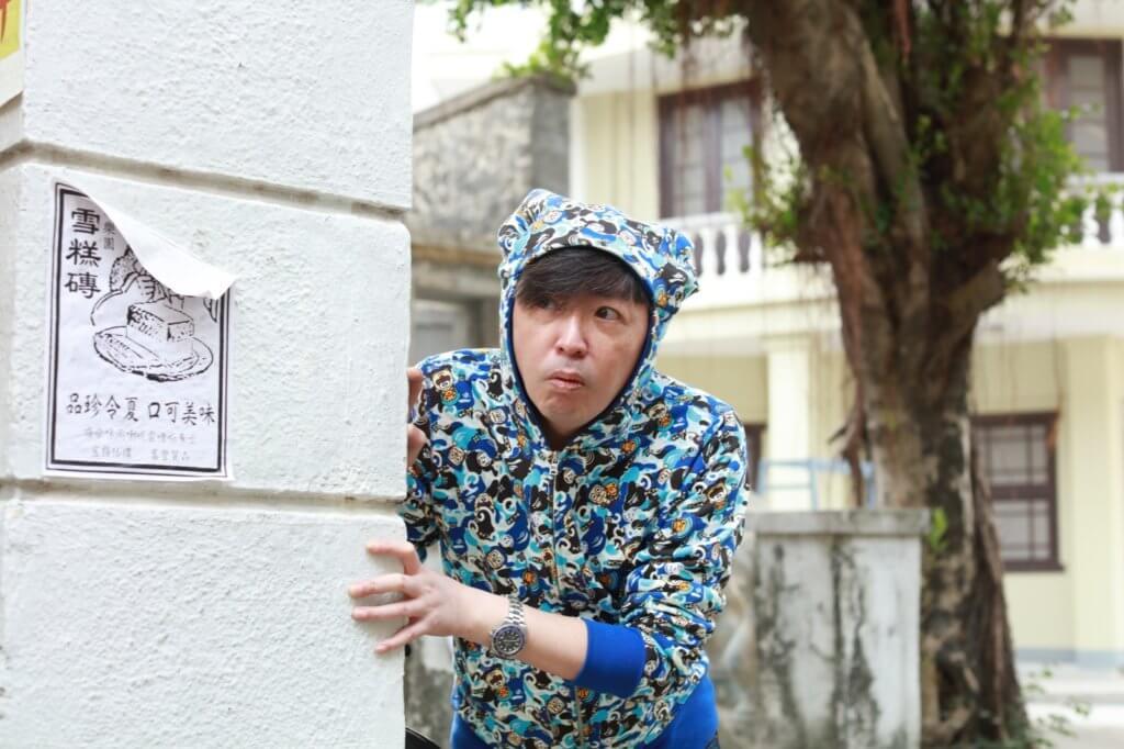 江榮暉擅演小人物角色,拍搞笑戲難不到他。