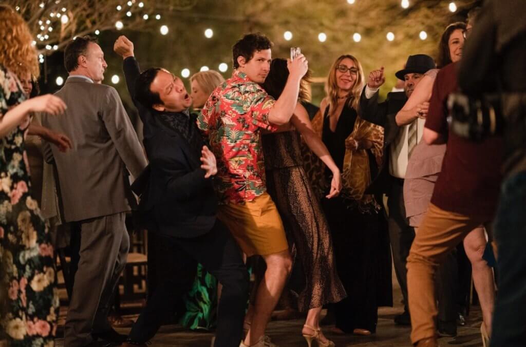 主角每日重回棕櫚泉參加婚宴,重複度過同一天,簡直人都癲。