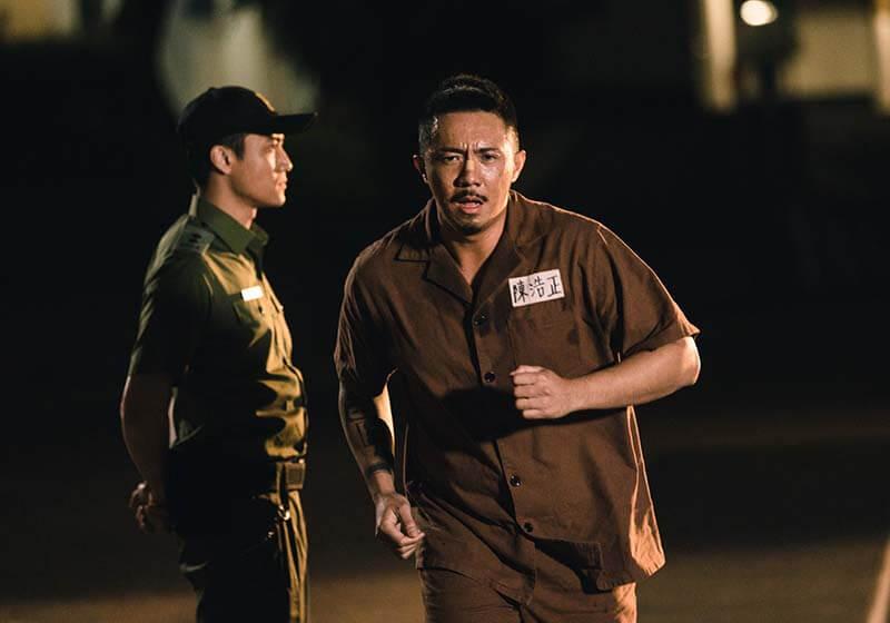 張繼聰在新戲《逃獄兄弟》中演的小混混,有點像他在《P風暴》中廢青的別傳。