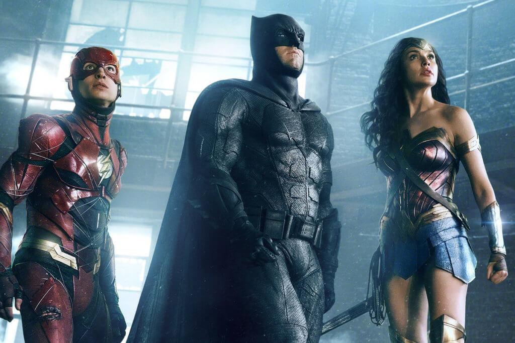 由《蝙蝠俠對超人:正義曙光》到《正義聯盟》,姬兒化身的神奇女俠十分搶鏡。