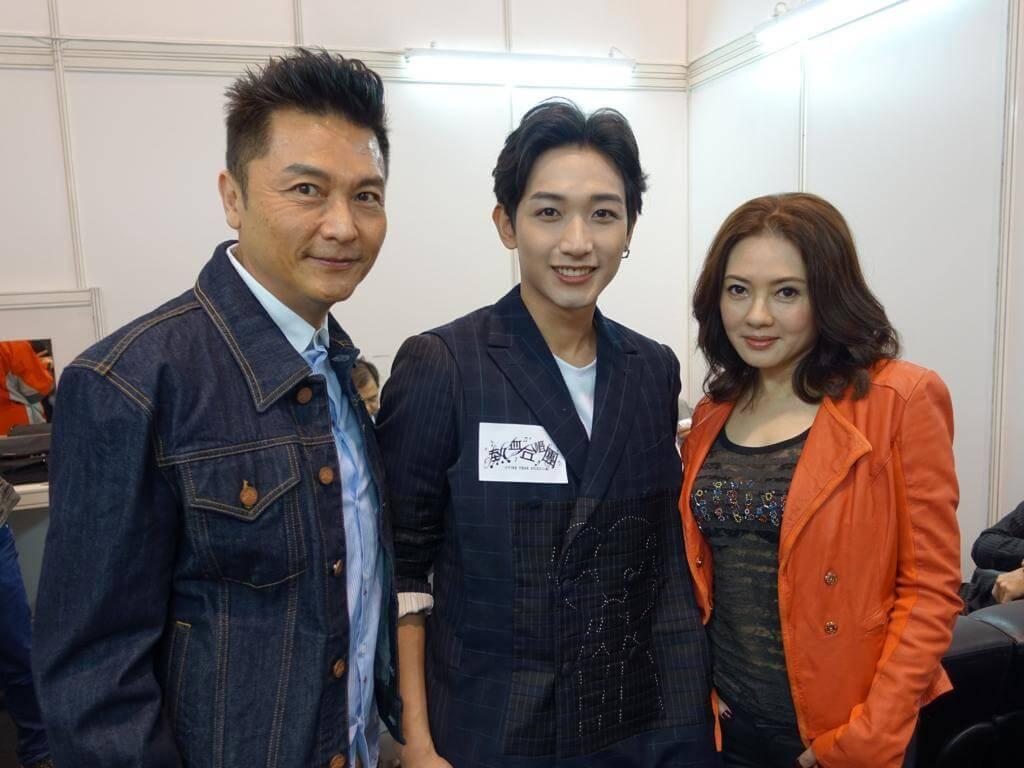 王智騫在《熱血合唱團》飾演關禮傑及李麗珍兒子,他感激前輩的提點。