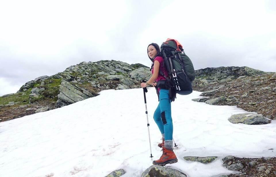 在瑞典北極圈著名的King's Trail走了三天一百公里。