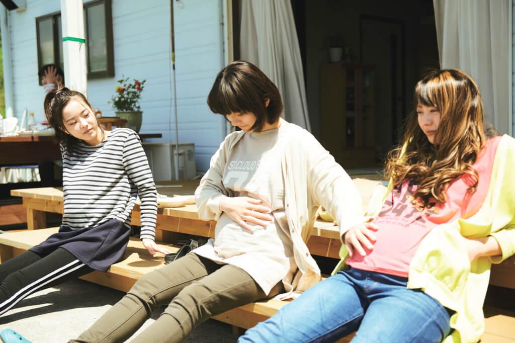 蒔田彩珠扮演的未成年懷孕中學生,人生天翻地覆,演技多變。