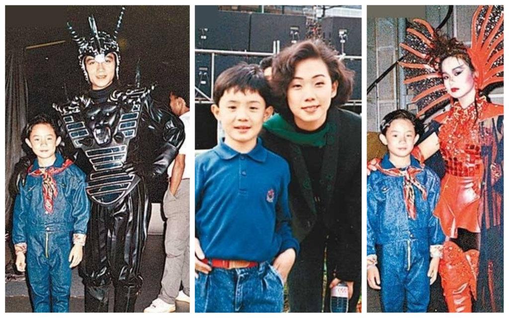 張繼聰做童星的年代,曾與林憶蓮、杜麗莎、吳國敬等合演音樂劇。