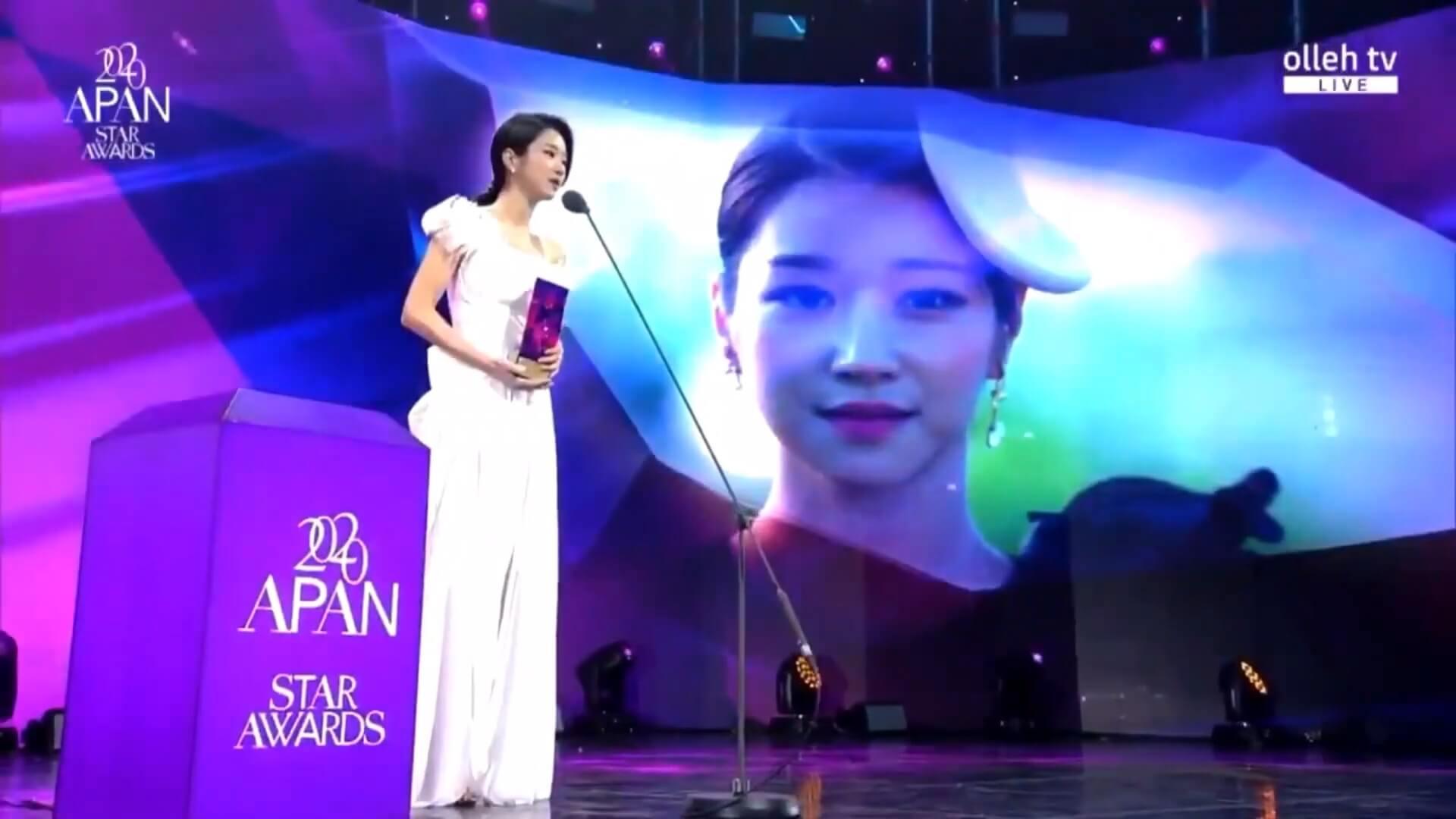 徐睿知奪得「IDOL Champ人氣女演員獎」及「迷你劇女子優秀演技獎」