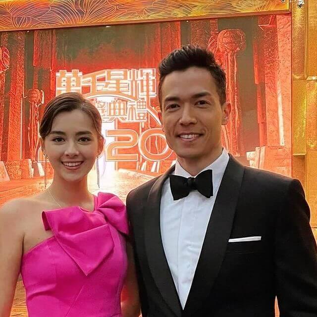 台慶頒獎禮與同是混血兒的港姐冠軍謝嘉怡齊齊頒獎