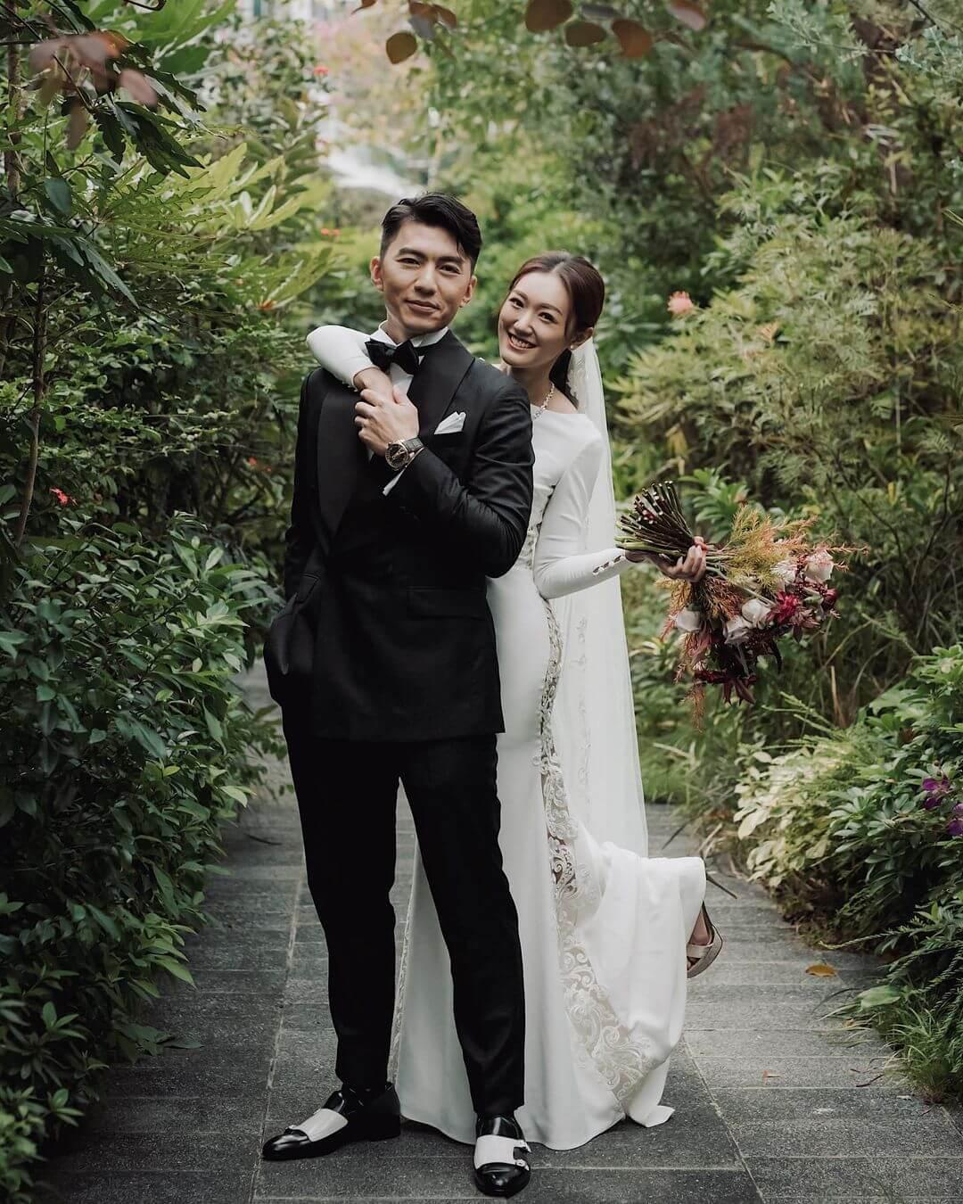 袁偉豪與張寶兒於去年11月底結婚