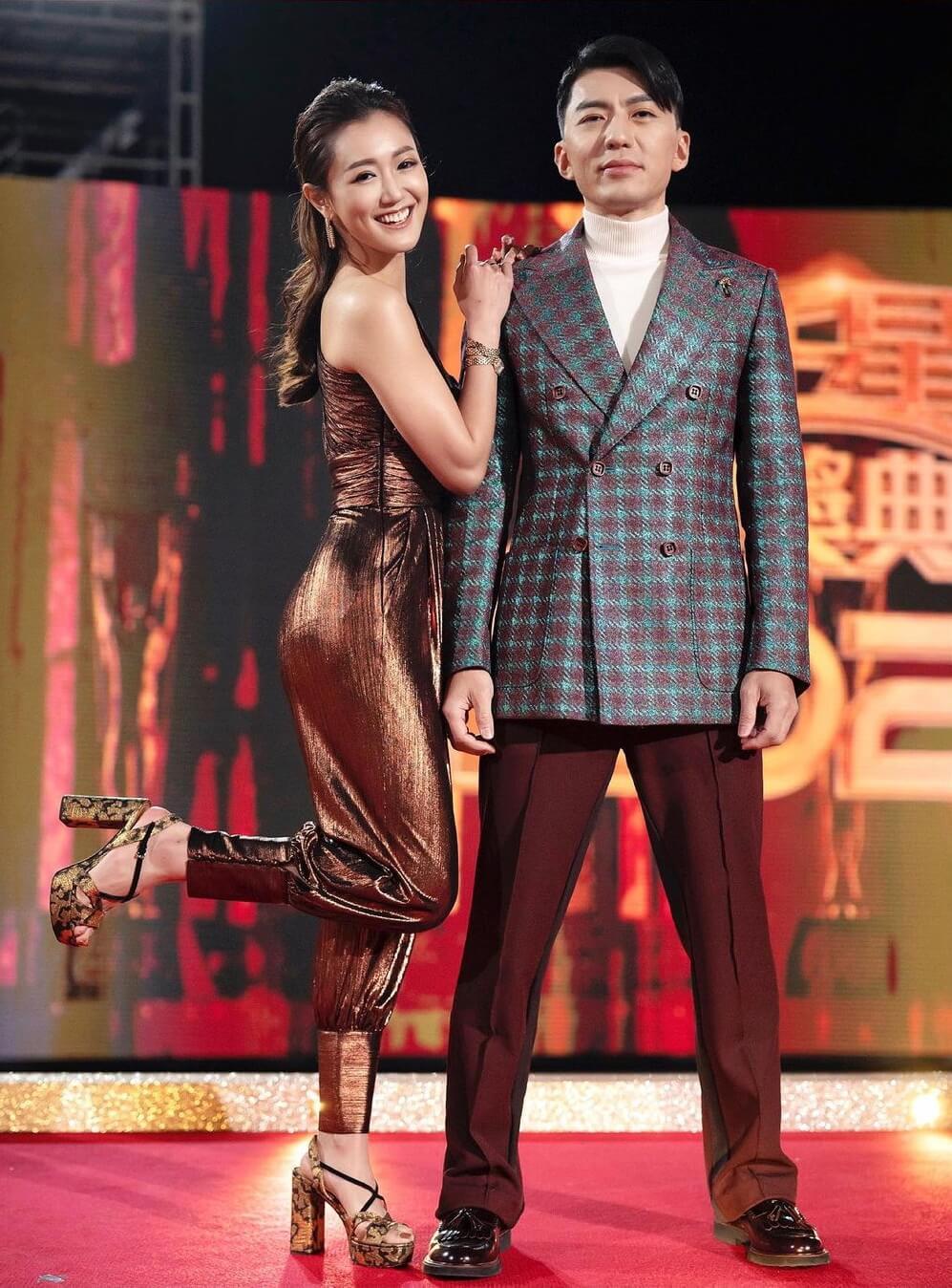 袁偉豪與張寶兒結婚後,被網民批評狀態大不如前。