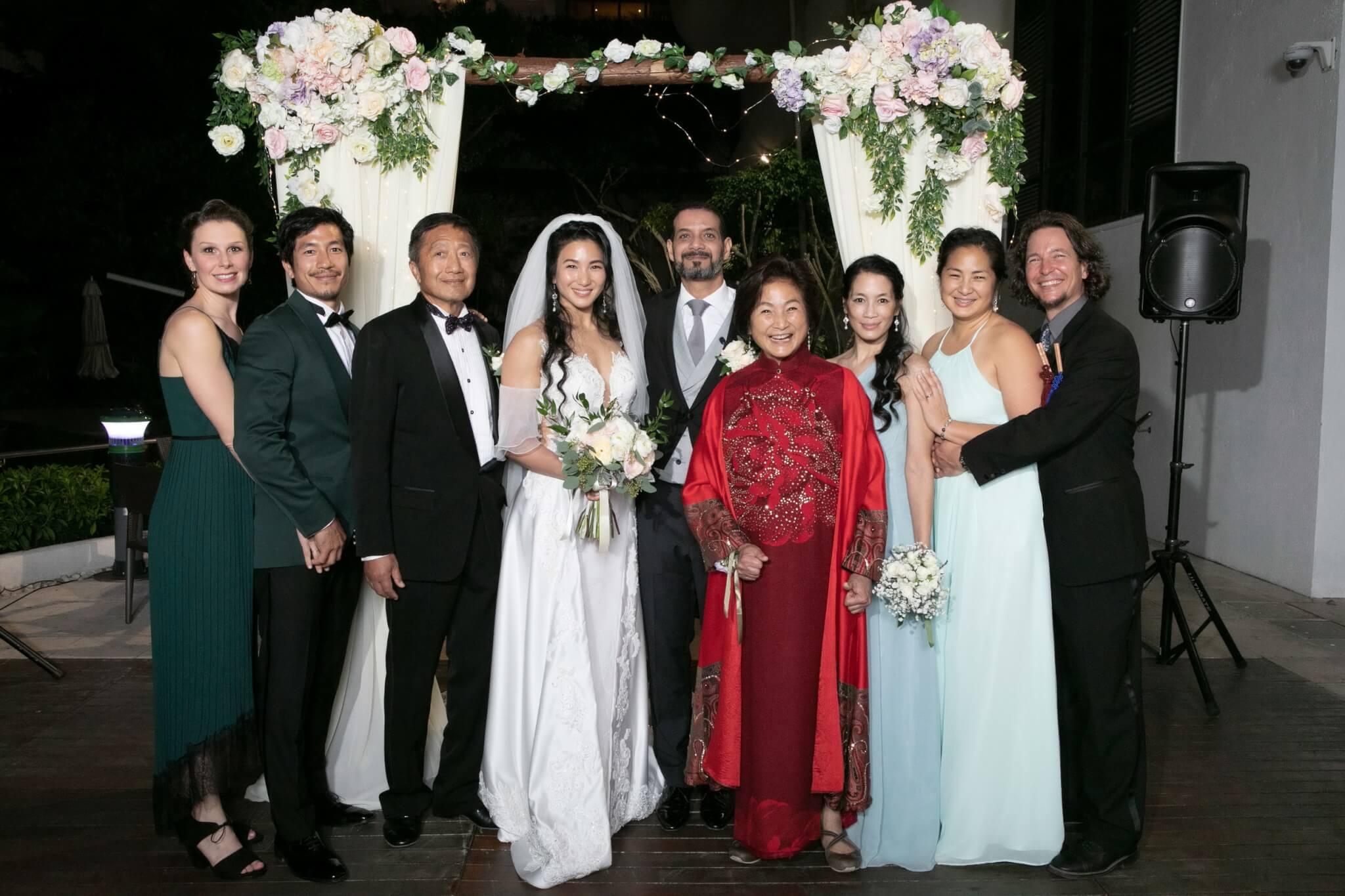 原子鏸於2019年與摩洛哥籍老公Mehdi El Ajimi結婚