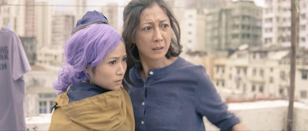 港台劇集向來寫實高質,吳綺莉在《獅子山下:兩個月亮》飾演一名患有躁鬱症的母親,是一個悲劇人物。