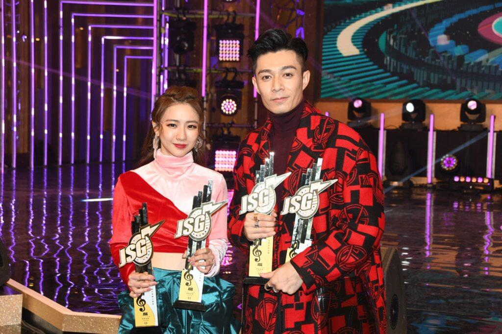 2020年初與周柏豪一起奪得最受歡迎男女歌星,這是菊梓喬第二次拿此獎。