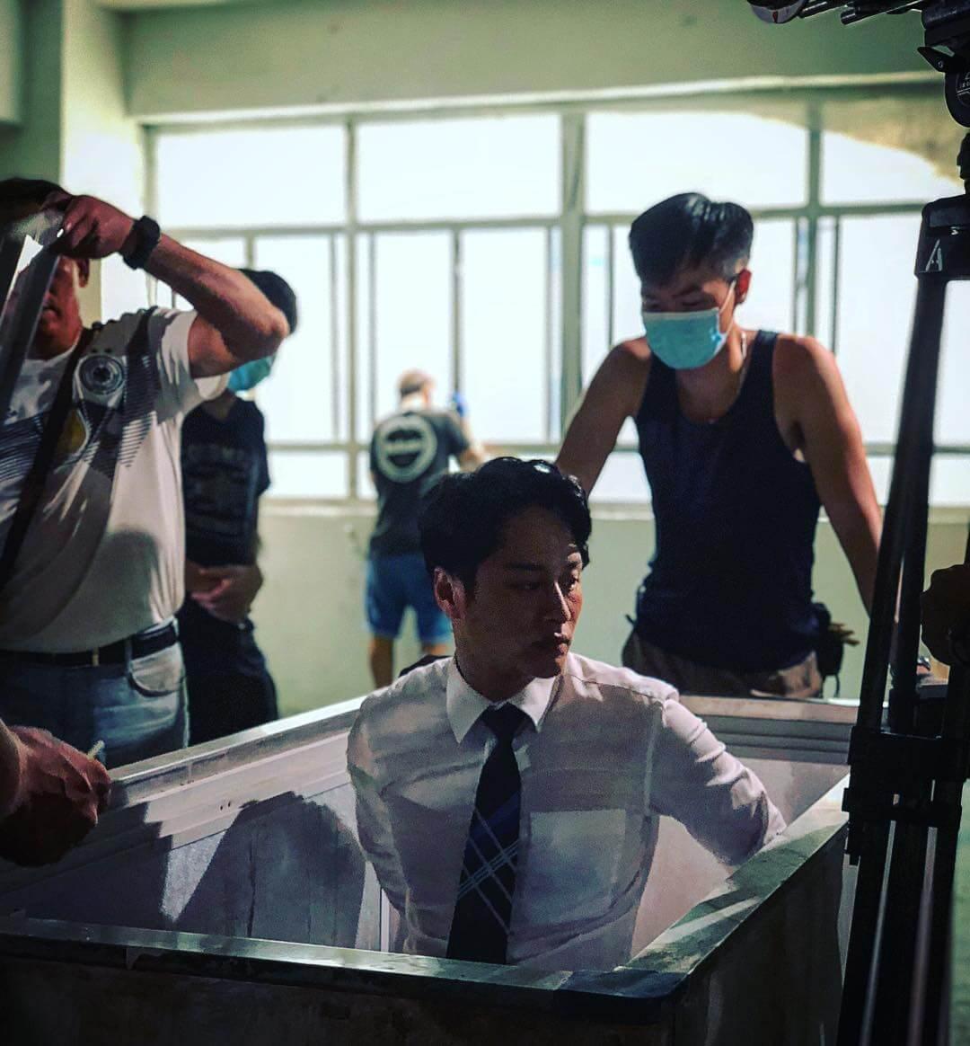 劇集《殺手》中飾演反派,更令觀眾看出不一樣的謝東閔。