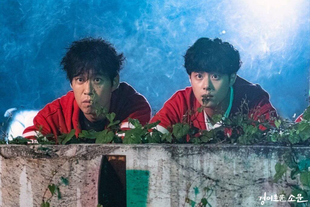 劉俊相常與趙炳圭分享健身心得,成功鼓勵他減肥修身。