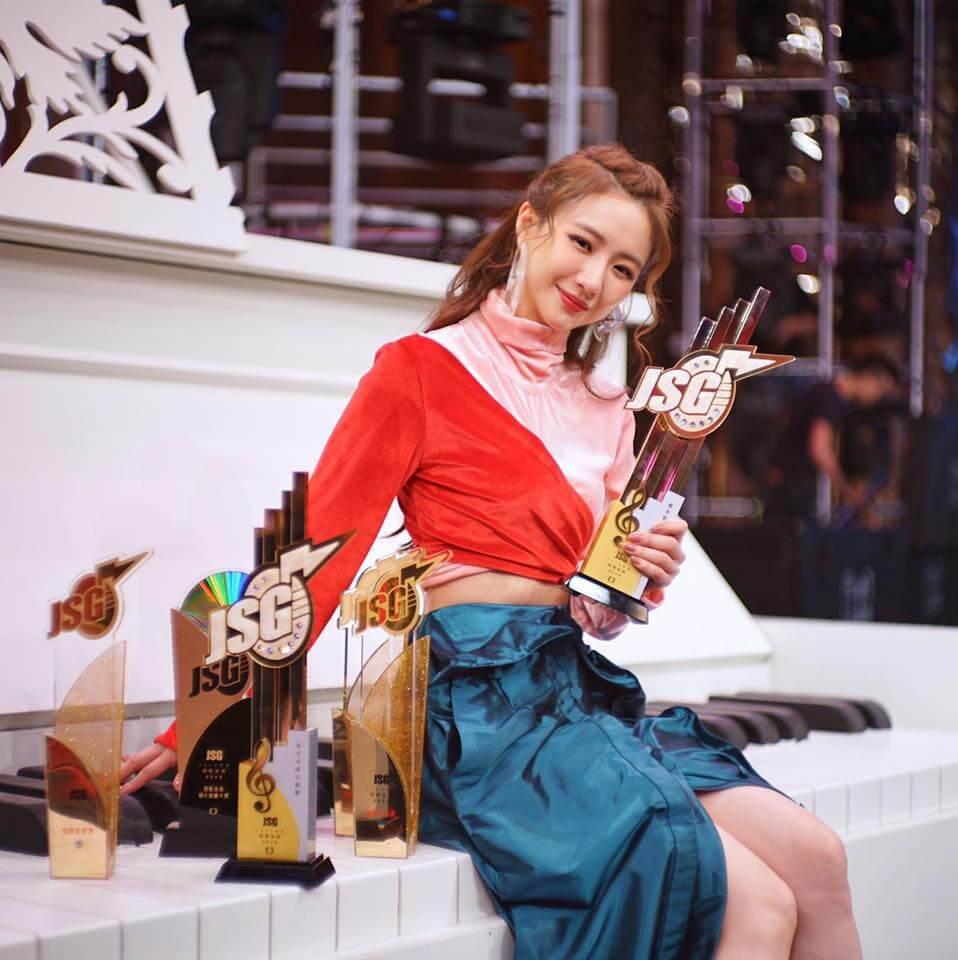 菊梓喬已有心理準備,再拿到最受歡迎女歌星獎或拿不到都會開心面對。