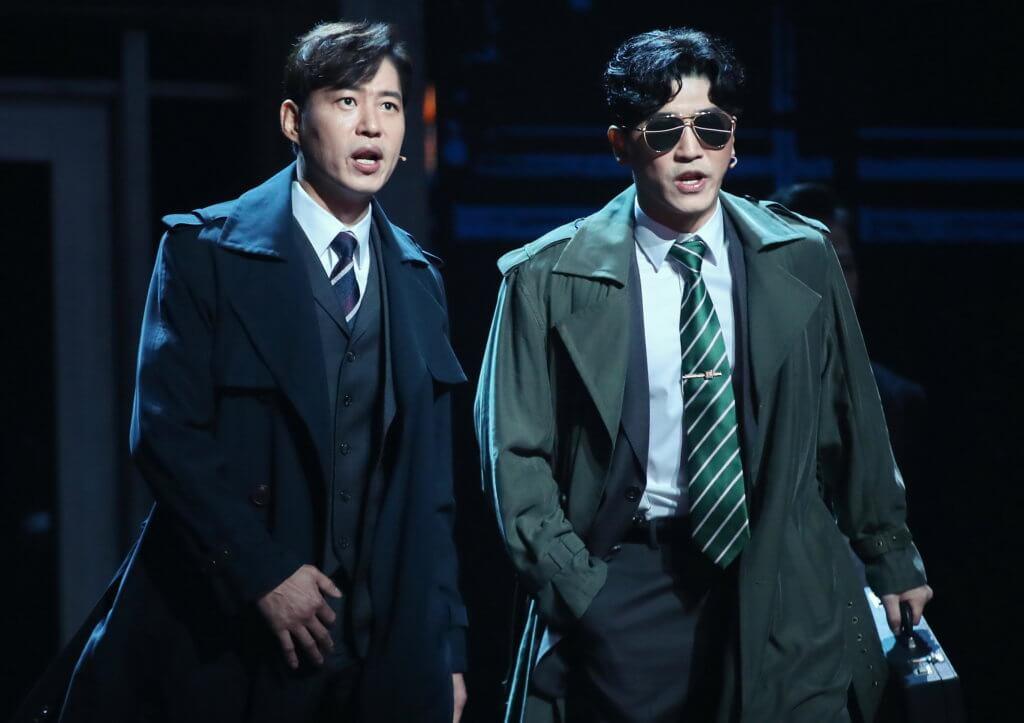 劉俊相出道以來演過二十多部音樂劇,前年年底他更在《英雄本色》音樂劇中化身電影中狄龍飾演的宋子豪。