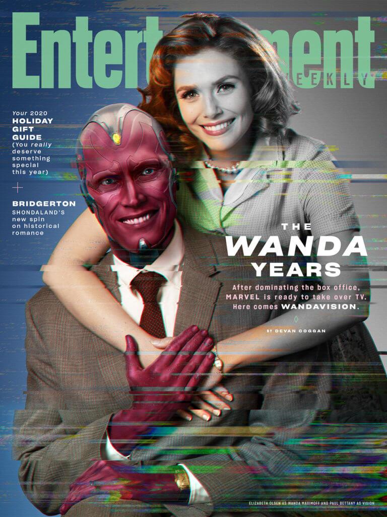 《WandaVision》上月成為美國娛樂雜誌《Entertainment Weekly》的封面特輯