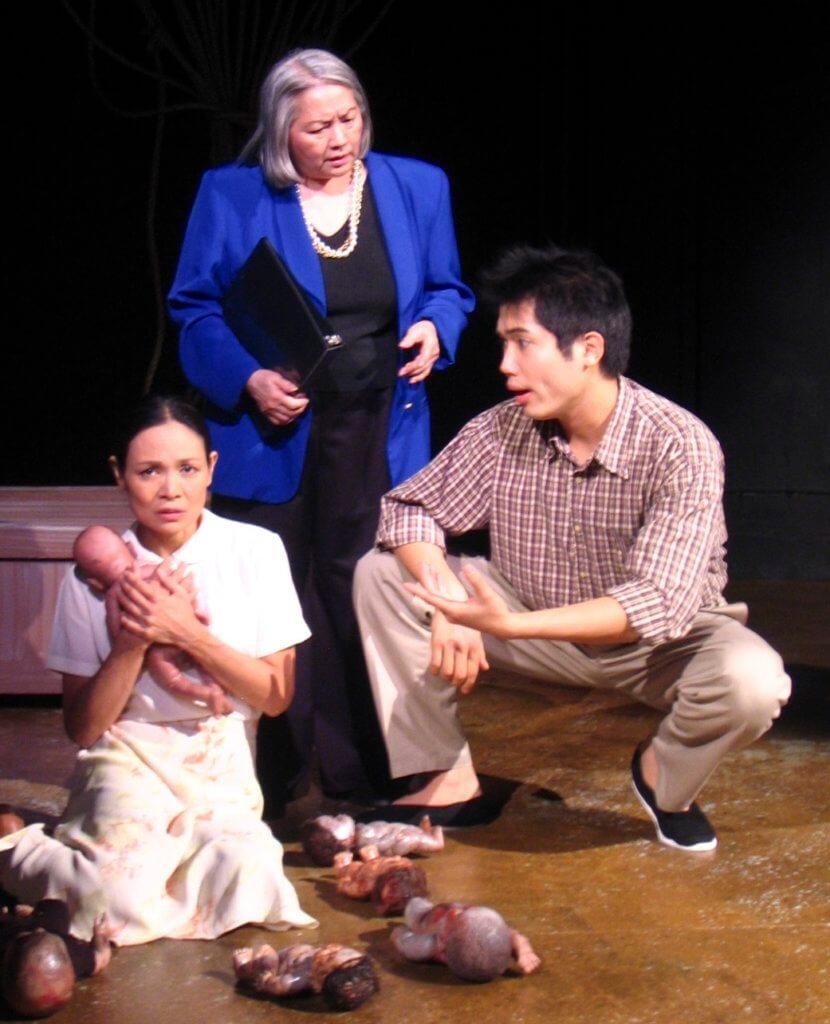 黃建東在美國大學畢業後到紐約市工作,憑這個Off Broadway演出 《Cambodia Agonistes》加入美國演員公會。