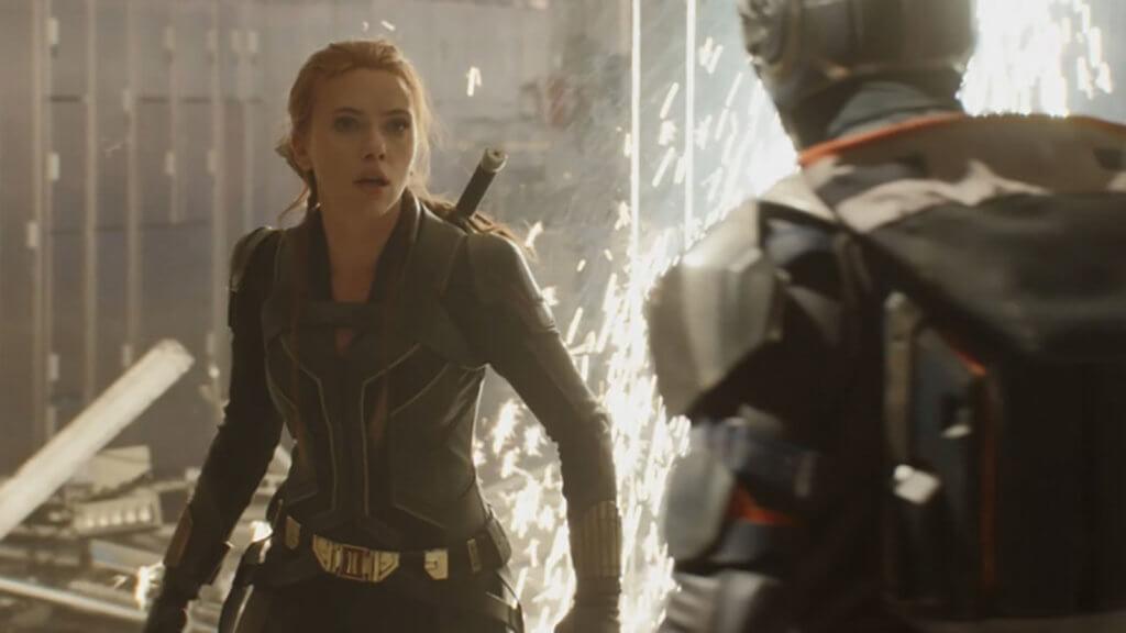 施嘉莉祖安遜孭重飛的《黑寡婦》,因新冠肺炎導致兩度延期至今年五月上映。