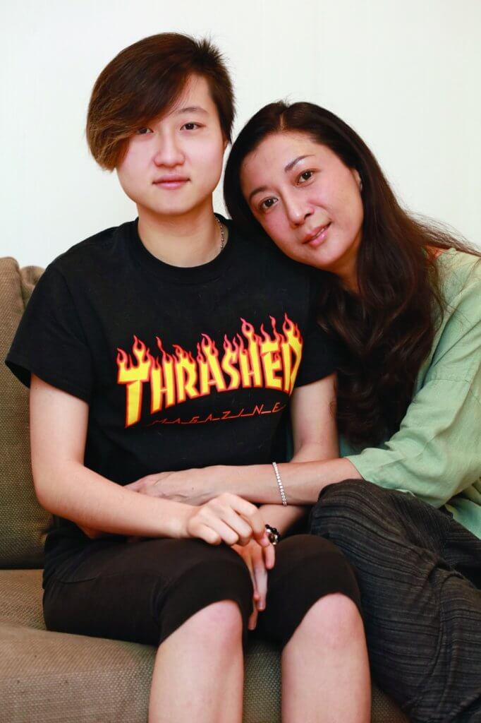 吳綺莉為了女兒卓林,搬去上海居住,在當地住了十一年。