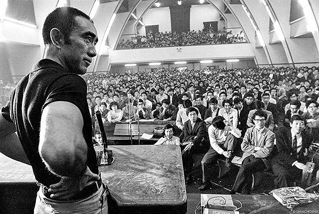 《三島由紀夫VS東京大學聯合戰役50週年真相》具有令人意想不到的趣味性