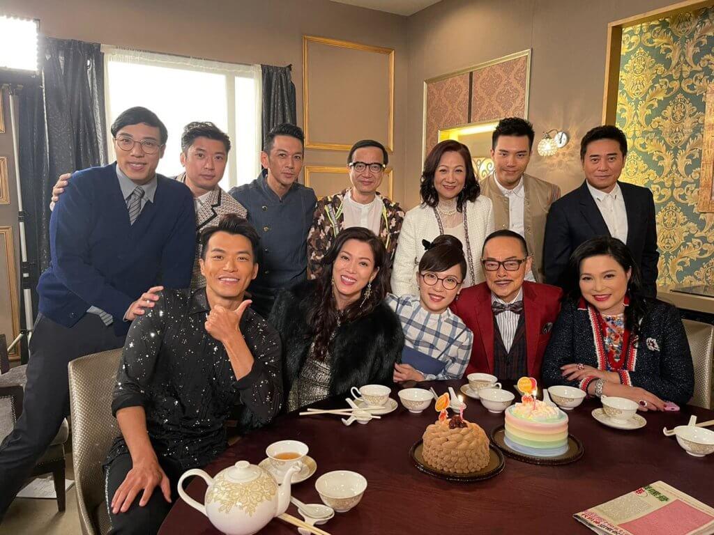 加入《愛‧回家》劇組不久,子涵獲一班同事為她慶祝生日,令她非常感動。
