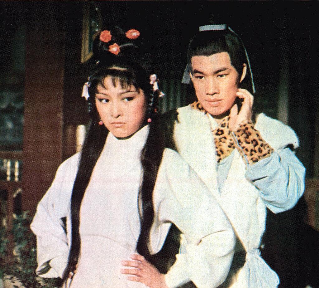 佳視七十年代開拍《射鵰英雄傳》,白彪與米雪是第一代郭靖及黃蓉。