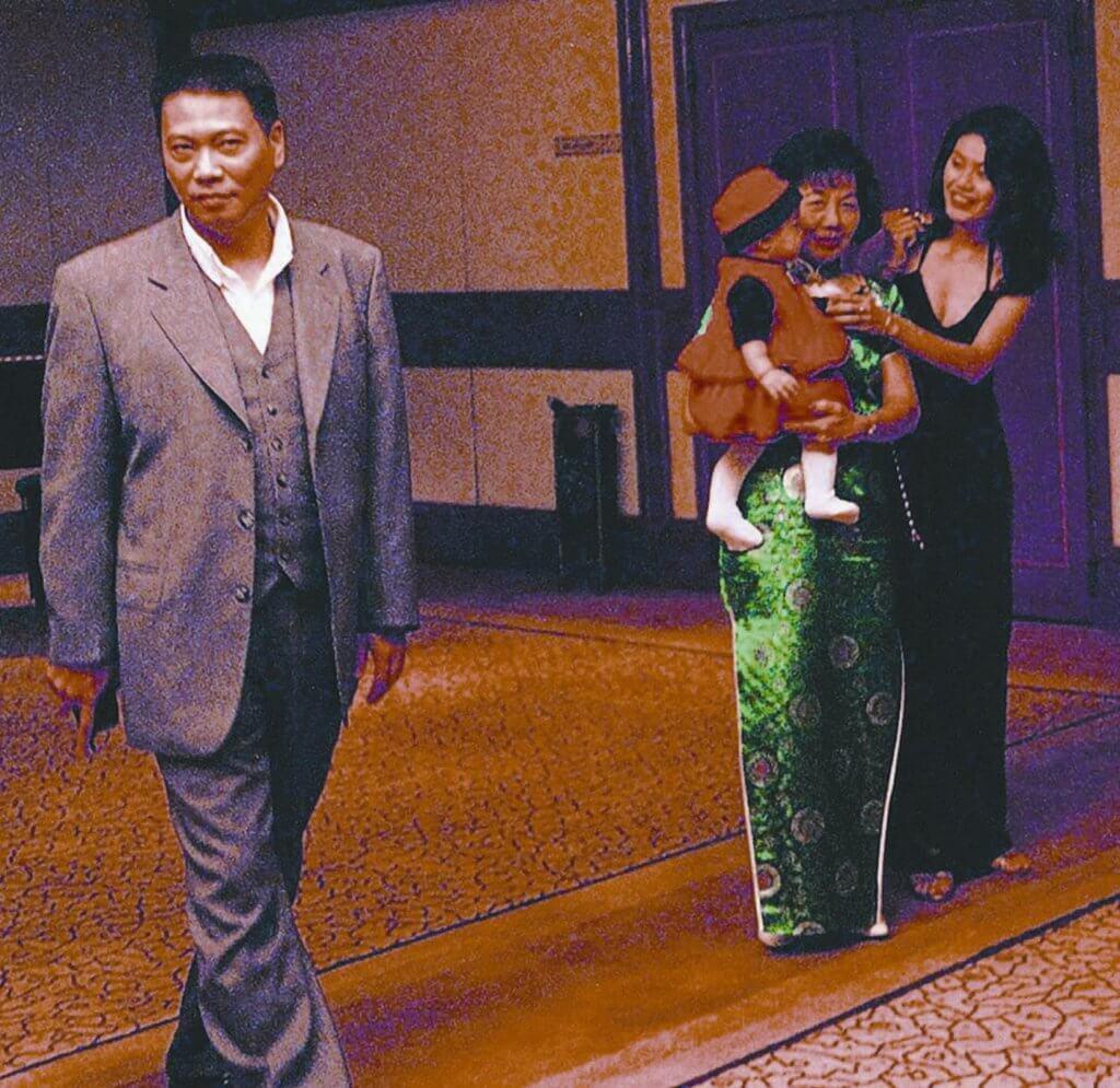 現任太太是九六年結婚的侯珊燕,但達嫂很少公開露面。