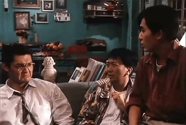 電影《風塵三俠》與梁朝偉及鄭丹瑞合作,戲中飾演失婚男人。