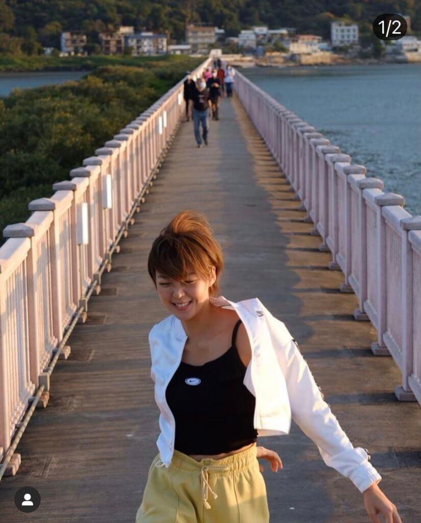 女友Inez生日,洪永城替她拍攝靚相,祝她生日快樂,永永遠遠都開心知足。