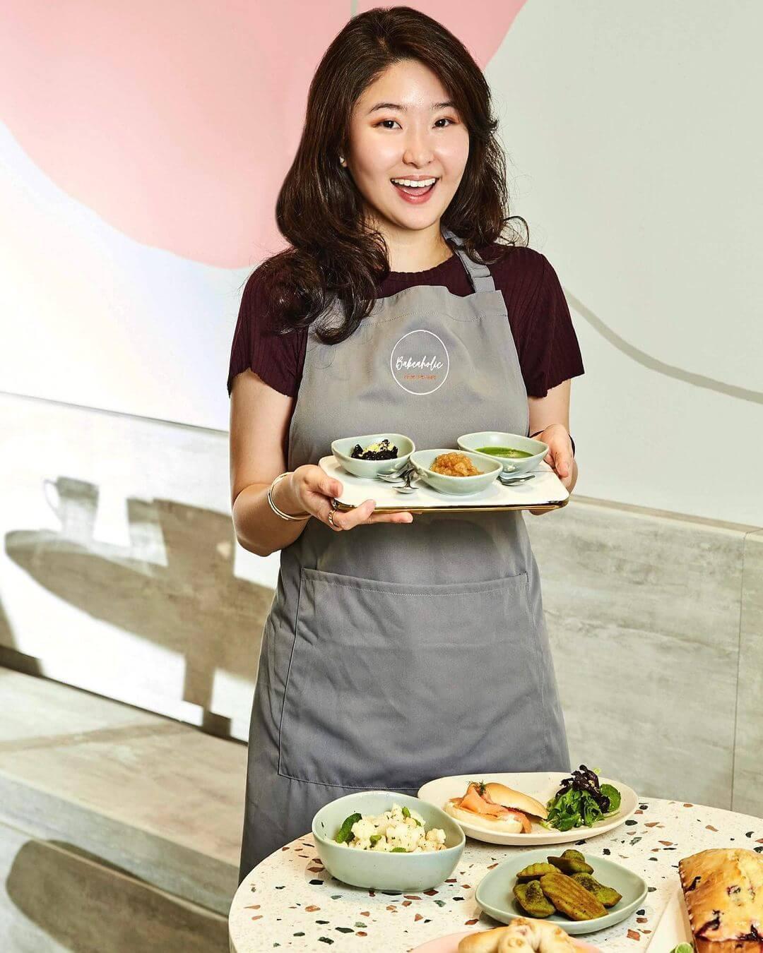許惠菁開設餅店「Bakeaholic」,時常在IG分享新作品。