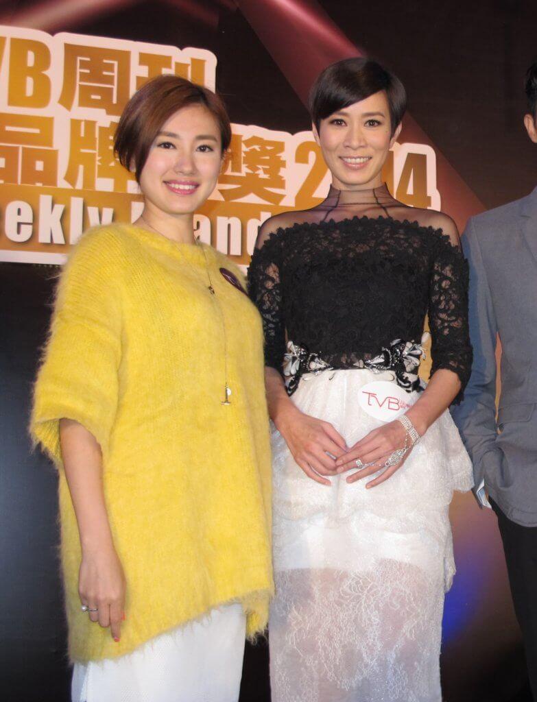 蔣家旻在《天與地》演佘詩曼的少女時期,因而被觀眾留意。