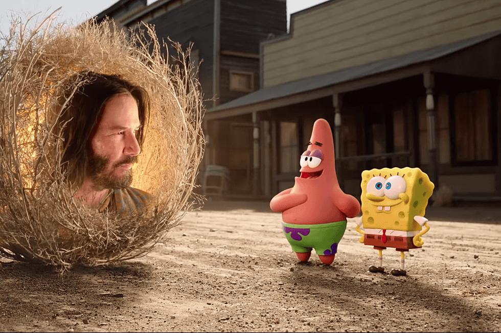 有奇洛李維斯搞鬼客串的《海綿寶寶:急急腳走佬》,被美國傳媒選為今年最令人期待的動畫電影之一。