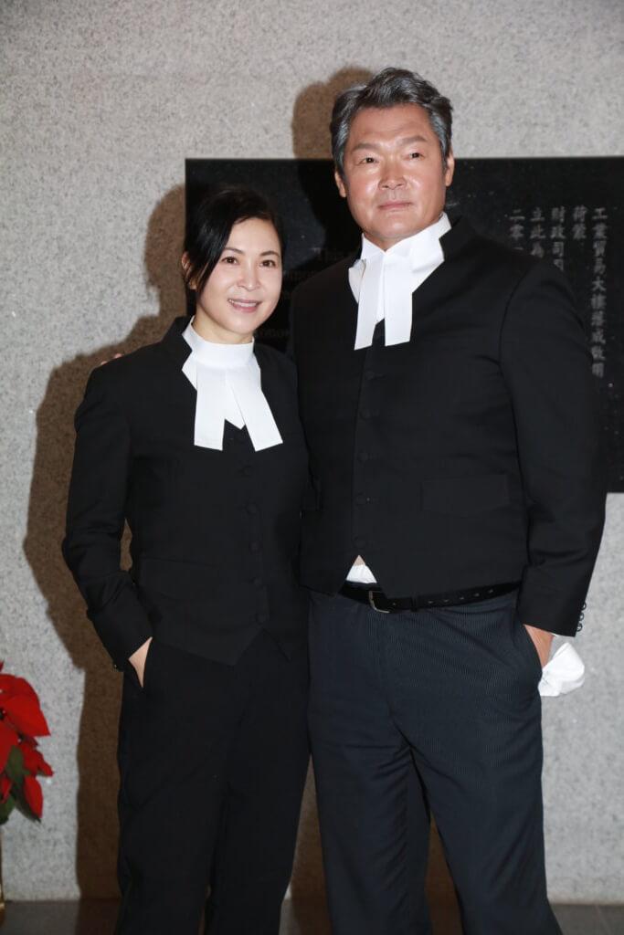 最近他獲翁子光邀請拍新片《正義迴廊》,與蘇玉華飾演律師。