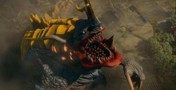 新登場的怪獸,甚有《福音戰士》「使徒」風格。