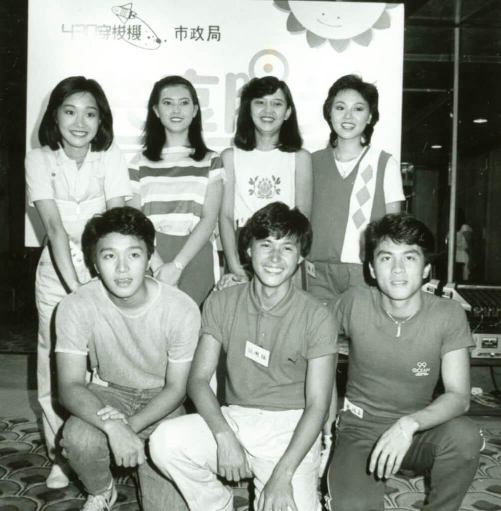 張國強做兒童節目的年代,負責率領周星馳、藍潔瑛、曾華倩、龍炳基等後輩。